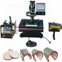 Dye Sublimation Heat Press Machine 8 In 1 Combo Heat