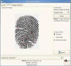 Finger Print Verification Service