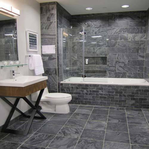 Grey Slate Floor Tiles