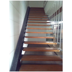 Suspended Rod Staircase