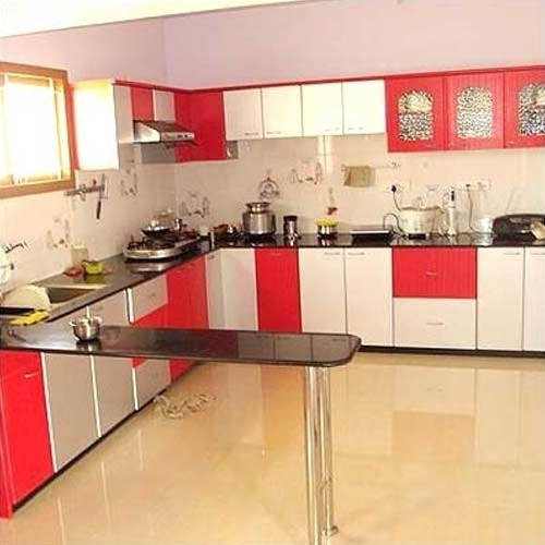 Modular kitchen interior design service in guindy chennai for Best material for kitchen cabinets in india