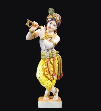 Designer Lord Krishna Statue View Specifications
