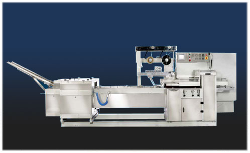 Single Row On-Edge Biscuit Packing Machines (Logipac 51 E)