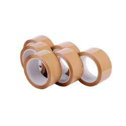 65-80 M Brown BOPP Tapes, Feature: Water Proof, Thickness: 40 Micron