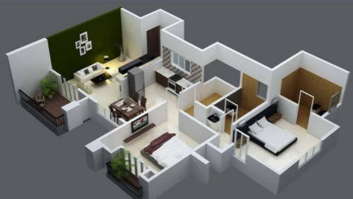 2 bhk house interior design pictures home design for 1 bhk flat interior decoration image