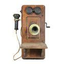 Antique Wooden Telephone
