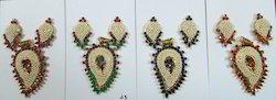 Multi Color Pearl Pendant Sets