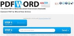 PDF to MS Word Typing Services