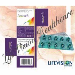Antioxidant & Multmineral Soft Gelatin Capsules