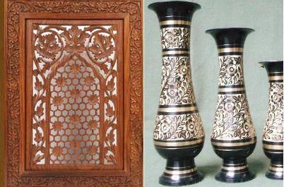 Handicrafts Item And Wooden Handicraft Exporter Craft World Moradabad