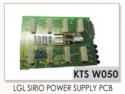 Lgl Sirio Power Supply PCB Weft Feeders