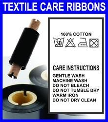 Textile Wash Care Resin Ribbons