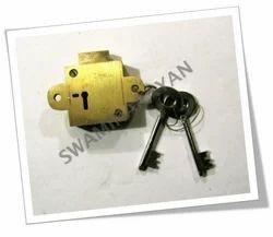 Brass Mudia Lock