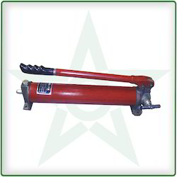 Hydraulic Manual Hand Pumps - Single Plunger Pump Manufacturer from