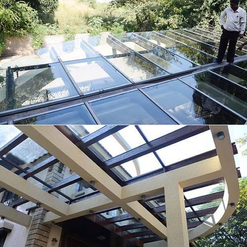 Laminated Glass Pergola - Laminated Glass Pergola S M Road Jalahalli Cross, Bengaluru