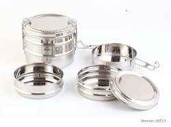 Triple Layer Stainless Steel Tiffin Carrier