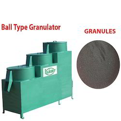Ball Type Granulator Machine