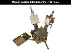 100 Holes Manual Capsule Filling Machine