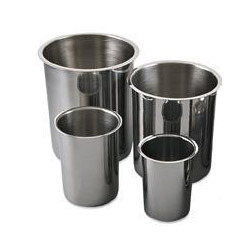 Stainless Steel Pots & Covers (Bain Marie)