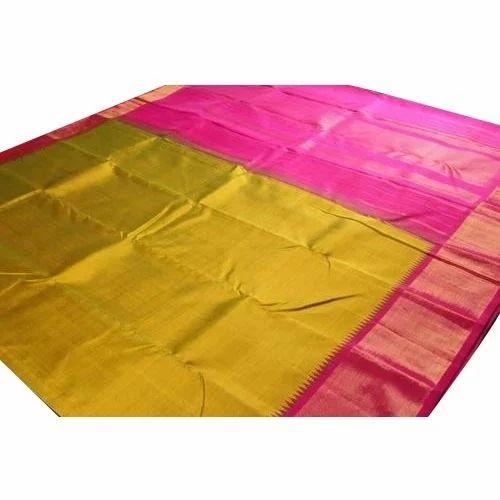 445df1f9c8 Pure Cotton Silk Saree at Rs 1049 /piece | रेशमी सूती ...