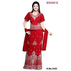 Lehenga Choli for Brides