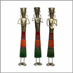 Handcrafted Standing Musician