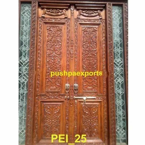 Wooden Carved Door Carved Door And Partition Bhuwana