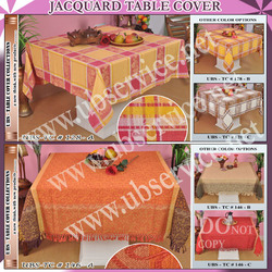 Jacquard Table Cover