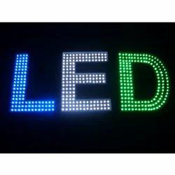 led sign board edged lighting signage manufacturer from new delhi