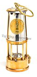 Brass Miner Lamp
