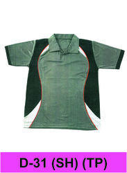 L.K.Creations Casual Wear Green Pattern T-shirt, Age Group: 10-60