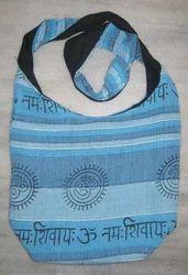 Blue Cotton Patchwork Handmade Bags