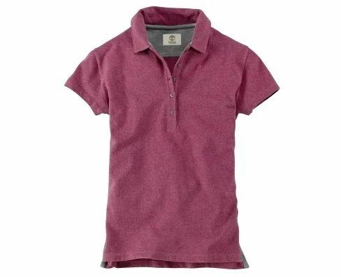 4be7b9652 Women Short Sleeve Pique Polo Shirt - Timberland, Chennai | ID ...