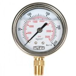 Lower Connection Pressure Gauge