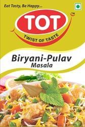 TOT 50 g Biryani Pulav Masala, Packaging: Packets
