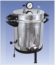 Stainless Steel Single Drum Portable Autoclave