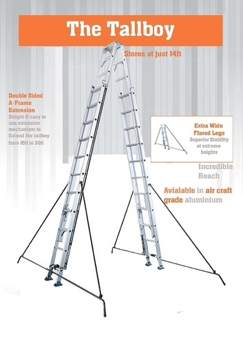 Tallboy Ladder, सीढियाँ - Alankar Electricals - Alankar Group ...