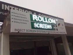 Green LED Signage
