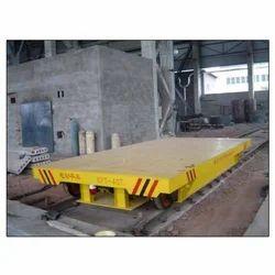 Mild Steel Material Transfer Trolley, For Industrial, Load Capacity: Standardised