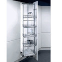Elegant Stainless Steel Pantry Pull Outs Kitchens