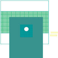 FENESTRATED DRAPE - O Hole Drape Manufacturer from Delhi