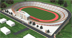 Stadium For Bundelkhand University Jhansi Project