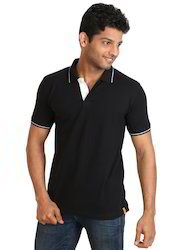 Exclusive Black Polo Neck T- Shirts