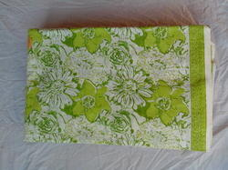 Big Flower Rapid Block Printed Fabric