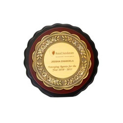 Wooden Certificate Plaque