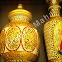 Jaipur Marble Handicraft Pot
