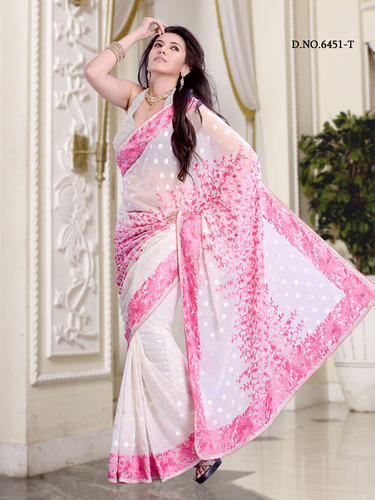 Beautiful Fancy Partywear Design Sarees