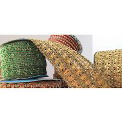 Multicolor Sarees Border Laces
