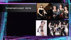 International Acts and Artist Management