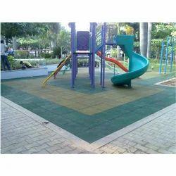 Public Park Rubber Flooring